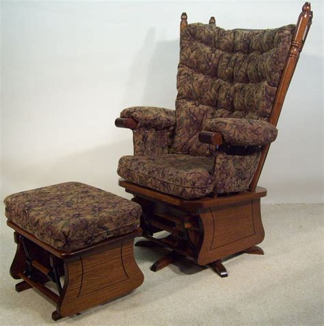 push back chair and ottoman reclining rocking chair with ottoman 28 images glider