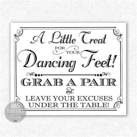 Wedding Shoes Sign Template 22 Best Images About Annie And Tonys Wedding On Pinterest