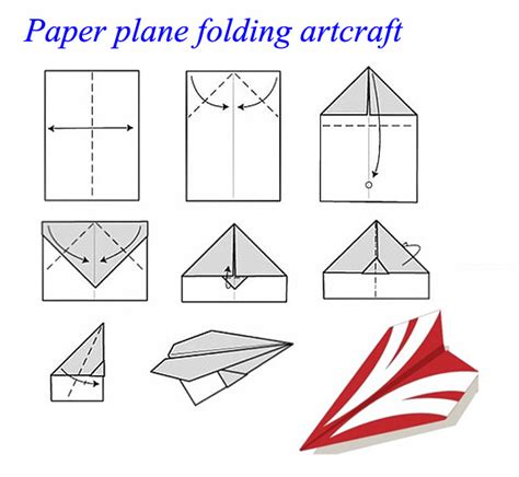 10 Ways To Make A Paper Airplane - hm830 easy rc folding a4 paper airplane alex nld