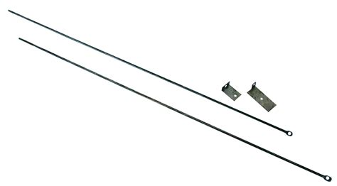 fireplace rod uniflame fireplace curtain rod uniflame c 6800 at
