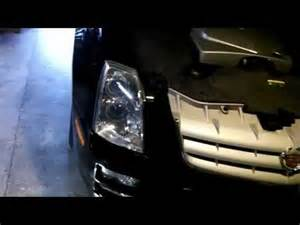 Cadillac Sts Headlights Cadillac Sts Headlight Bulb Replacement How To Make Do