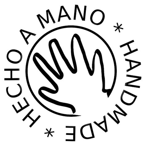 handmade hecho a mano quot handmade quot logo for labeling handm flickr