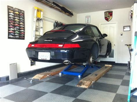 choosing a lift for home garage rennlist porsche