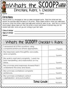 Current Events Homework Sheet by Current Events Homework Template Current Events