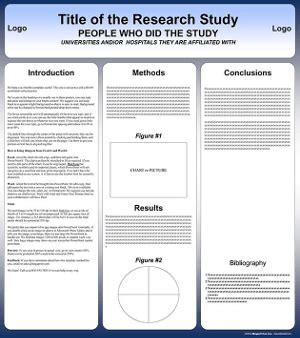 poster template 90 x 120cm research speaker resource center design automation