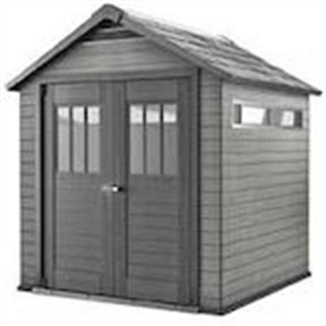 Composite Shed by Canadian Tire Keter Fusion Wood Plastic Composite Shed 7