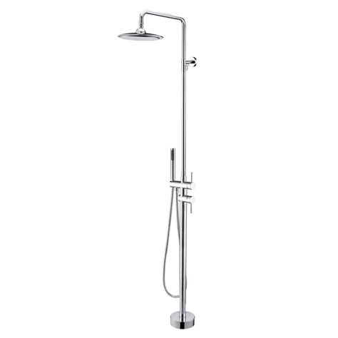 new modern floor mounted shower shower faucet in