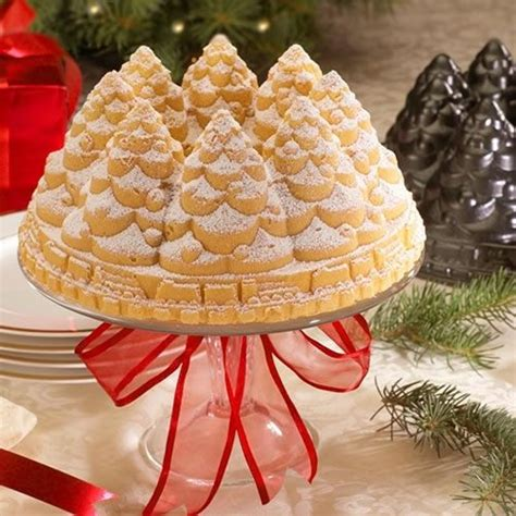 holiday tree ware and bundt pans on pinterest