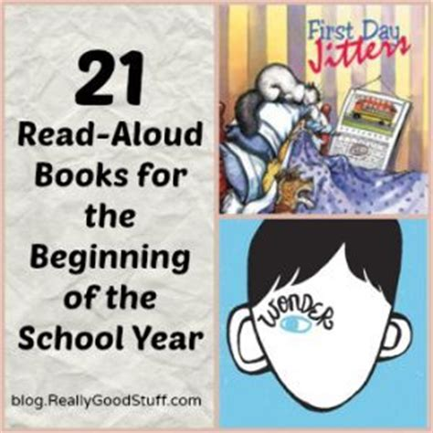 A Place Read Aloud 21 Books For The Beginning Of The School Year The O Jays The Beginning And Teaching