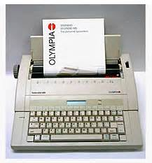 Mesin Tik Olympia Sm18 18inc my typewriter harga mesin ketik manual dan elektrik merk olympia