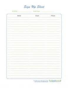 nursery sign in sheet template 38 best images about sign up on daily schedule