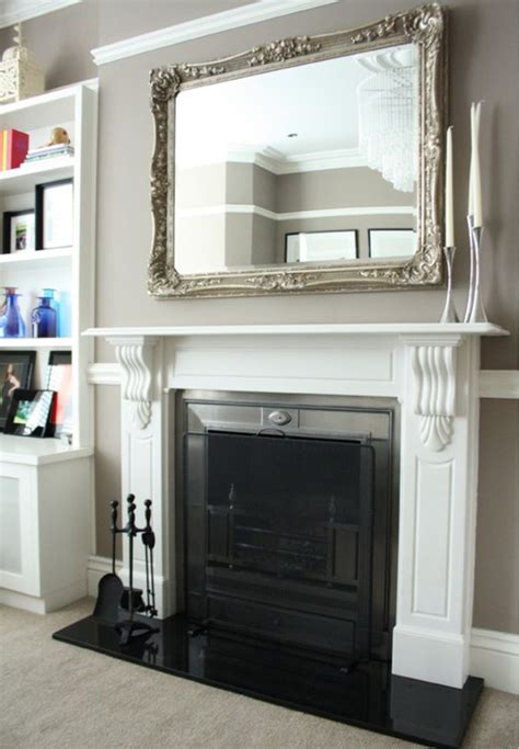 the 25 best mirror above fireplace ideas on