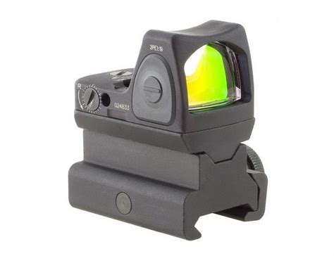 New Rmr Mini Tactical Sight With Rail And Glock Mount trijicon rm06 34 rmr sight adjustable led 3 25 moa