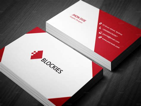 Business Card Template by Corporate Business Card Template Business Card Templates