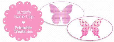 printable butterfly name tags printable butterfly name tags printable treats com