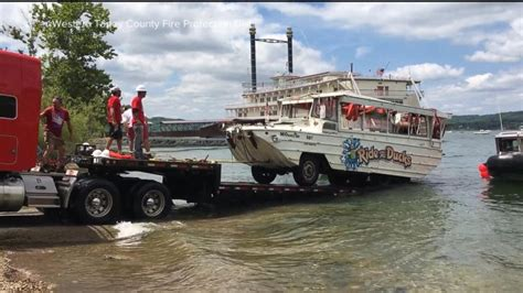 duck boat tour cost coast guard raises ill fated duck tour boat from the