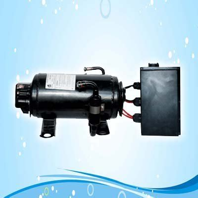 bldc 48volt variable speed compressor for ev of electric vehicle car truck electric air