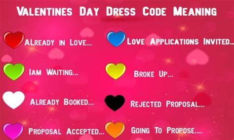 meaning s day day dress color code it s meaning top buzz india