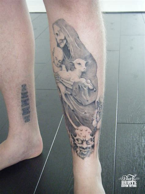 front thigh tattoos gallery by danny bowers compi