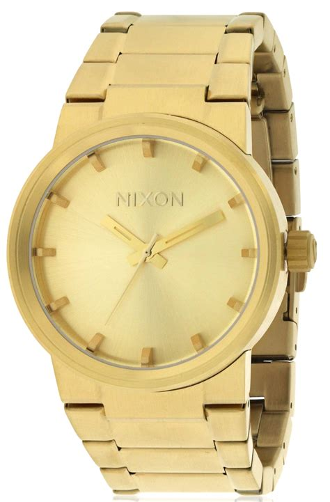 Nixon A160502 Cannon All Gold nixon cannon gold tone mens a160502 00 ebay