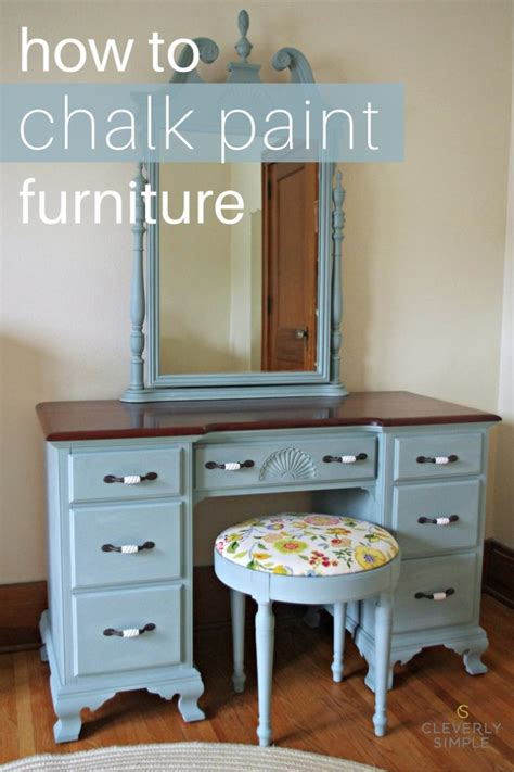 chalk paint that looks like stain how to chalk paint furniture simple recipes diy