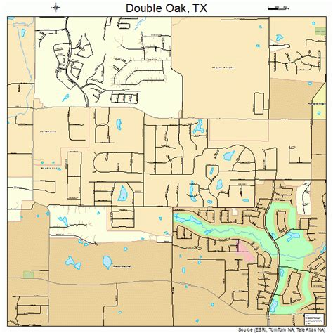 oak texas map oak texas map 4821028