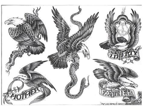 american eagle tattoos eagle tattoos