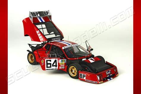 BBR Models 1979 Ferrari Ferrari 512 BB LM   Le Mans #64   Red