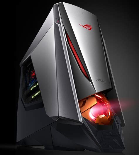 Asus Rog Intros New Gt51ca Gaming Desktop Gaming Desk Top