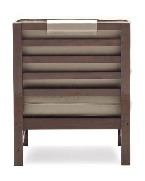 strathwood outdoor furniture strathwood hardwood sectional armless chair