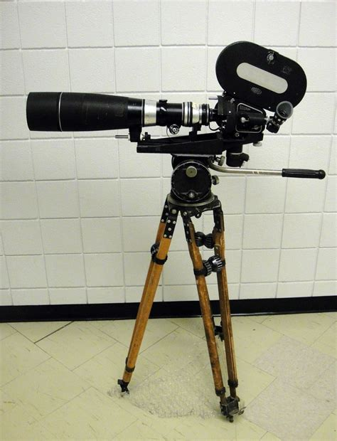 Tripod Gadget A Place To Stand Arriflex Iic 600mm Lens O Connor Tripod Tripod Lens And Cameras