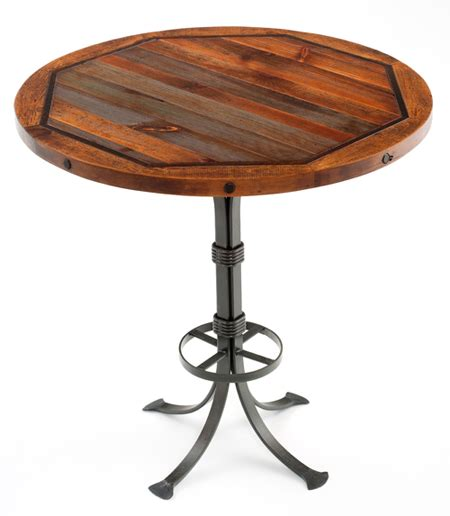 Rustic Bistro Table Urdezign Lugar Product Categories Rustic Pub Tables