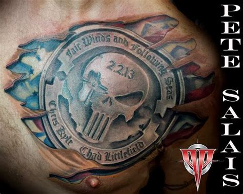 chris kyle tattoo 14 best chris kyle american sniper images on