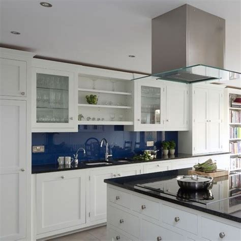 Kitchen White And Blue by Best 25 Blue White Kitchens Ideas On Pinterest Blue