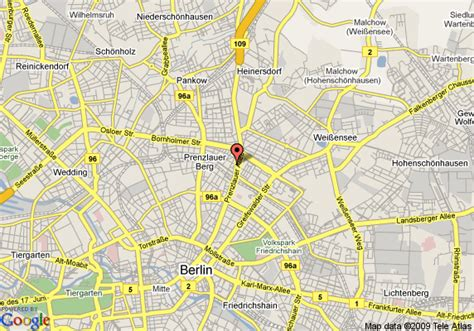 Hotel Kriss Rome Italy Europe map of inn berlin cc e prenzlauer allee berlin