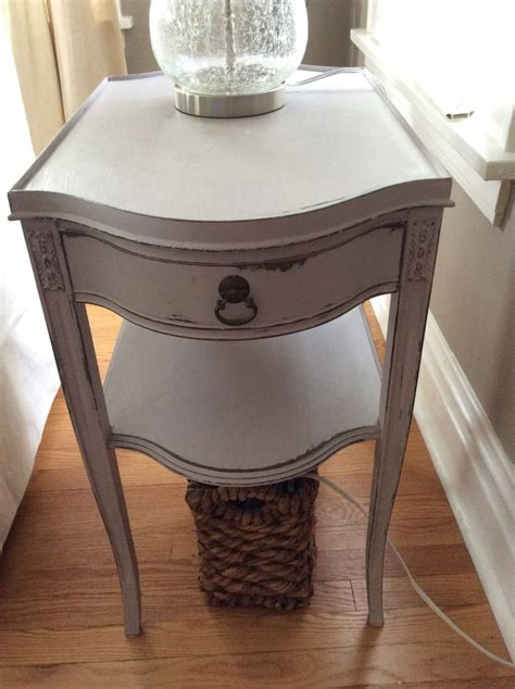 chalkboard paint end table chalk painted end table home