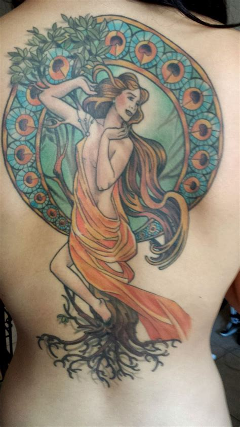 art nouveau tattoo 27 best nouveau images on cool