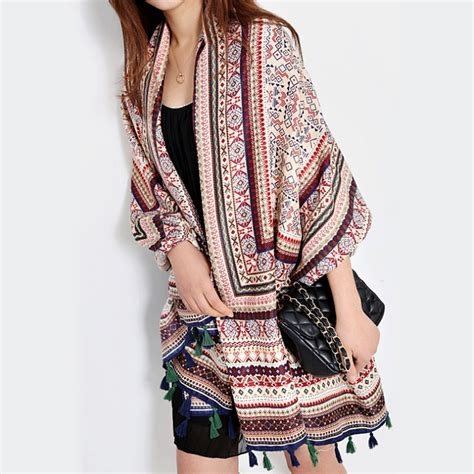 Pashmina Cotton Scarf Murah aetrends twill cotton bohemia thailand style pashmina with tassels shawl cape scarf z
