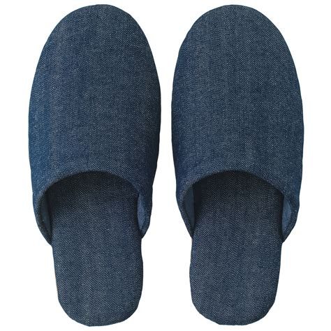 denim slippers muji welcome to the muji store