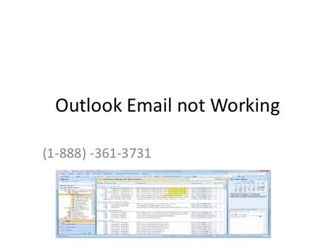 Outlook Email Search Not Working 1 888 361 3731 Outlook Email Is Not Working