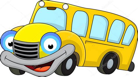 imagenes buses escolares animados dibujos animados de autob 250 s escolar vector de stock