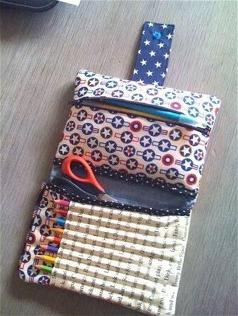 tutorial neceser cartuchera desplegable bolsos necesers 17 mejores ideas sobre porta crayones de tela en pinterest