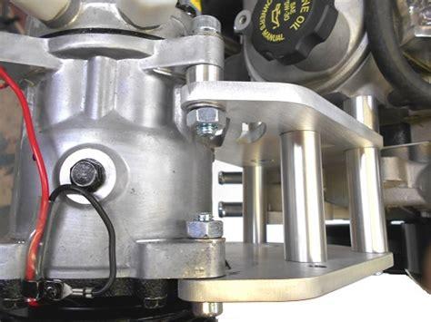 ls conversion swap sanden  ac bracket assembly