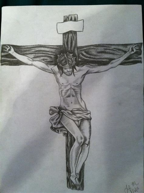 drawings of jesus on the cross pictures to pin on