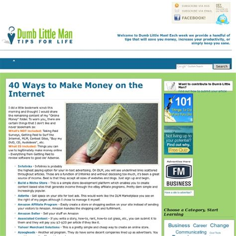 40 Ways To Make Money Online - 40 ways to make money on the internet pearltrees