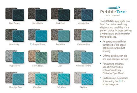 pebble sheen colors concrete pools infinity pool construction llc custom