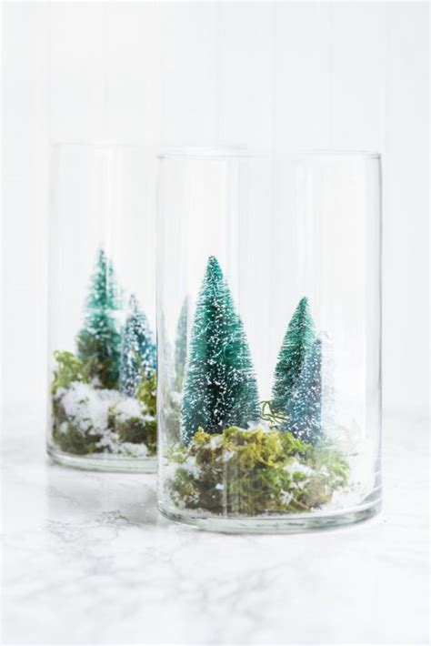 diy terrarium winter scene  sweetest occasion