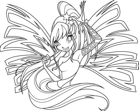 colour my sketchbook bloom 1979564035 sirenix coloring page by icantunloveyou on