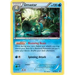 Omastar Xy Fates Collide Tcg Card Database Pokemon Com