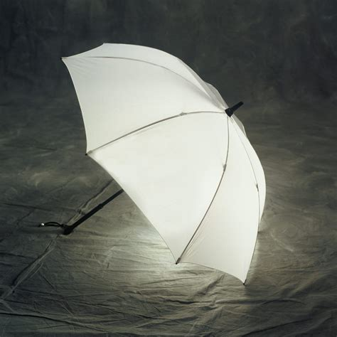An Umbrella That Lights Up by Just White Lighted Umbrella Bright Touch Of Modern